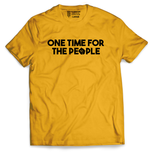 One Time for the People - Tee Narrations