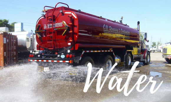 Water Truck Equipment