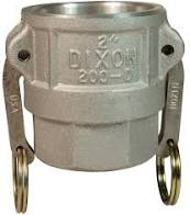 Female Coupler to Female NPT- Cam & Groove Type D Camlock Fittings