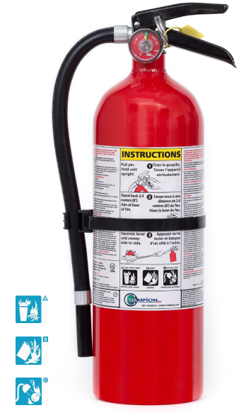 5 LB ABC Fire Extinguisher