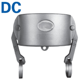 Female Coupler Dust Cap- Cam & Groove Type DC Camlock Fittings