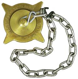 ACME Brass Cap and Chain