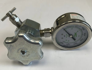 Combo Valve - Liquid Level Vent and Pressure Gauge