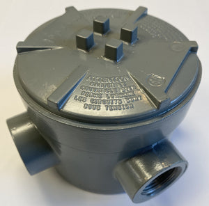 Hose Reel Junction Box - 5 Port - LPG - Hannay Reel