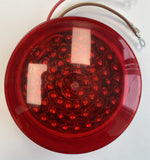 Betts RED LED Replacement Light and Lens - Raised