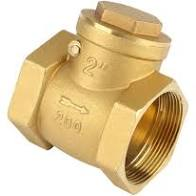 Swing Check Valve  - Brass