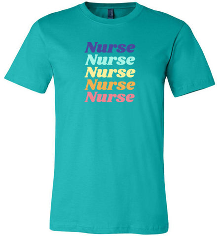 Retro Nurse T-Shirt
