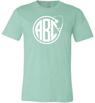 Custom Monogram Stethoscope T-Shirt