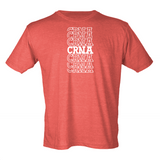 Stacked CRNA T-Shirt