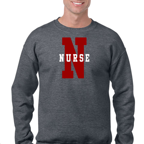NURSE Letterman Sweatshirt