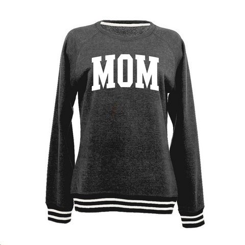 Ladies Relay Mom Crewneck Sweatshirt