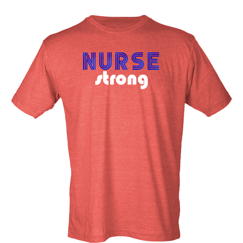Retro Nurse Strong T-Shirt