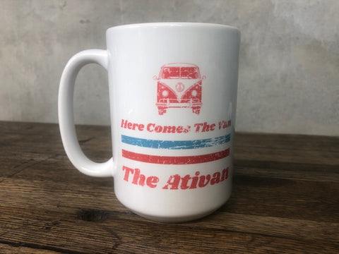Here Comes the Van Coffee Mug