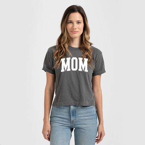 Ladies Crop MOM T-Shirt