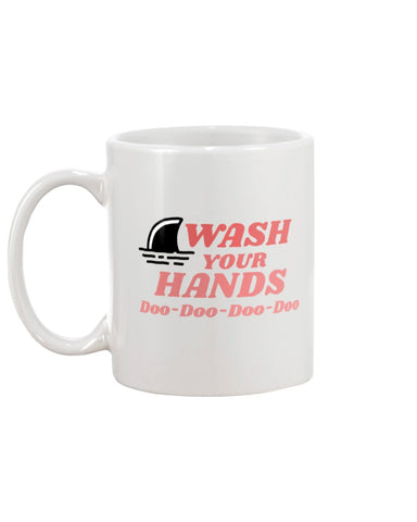 Pink Wash Your Hands Doo-Doo Coffee Mug