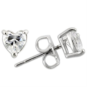 Rhodium 925 Sterling Silver Earrings