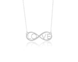 Eternal Love Necklace Sterling Silver