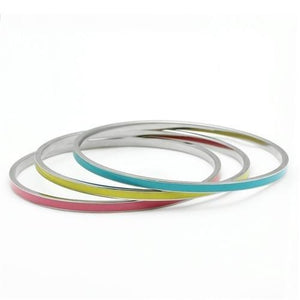 Multicolor Stainless Steel Bangles