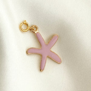 NEW ! Charm Pink Starfish