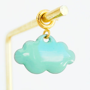 NEW ! Charm Baby Blue Cloud