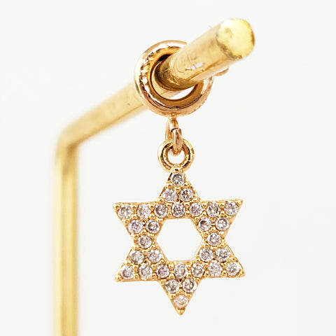 NEW ! Charm Gold Star