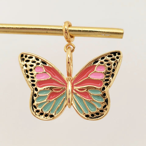 NEW ! Charm Big Butterfly2
