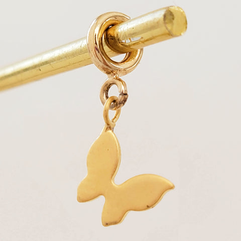 NEW ! Charm Gold Butterfly