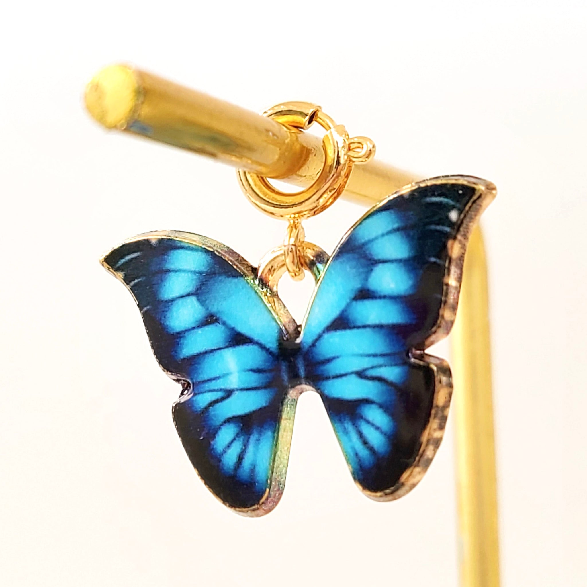 Charm Blue Butterfly