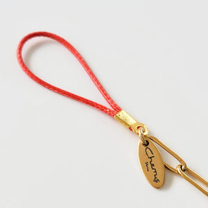 NEW ! Single Phone Cord Red