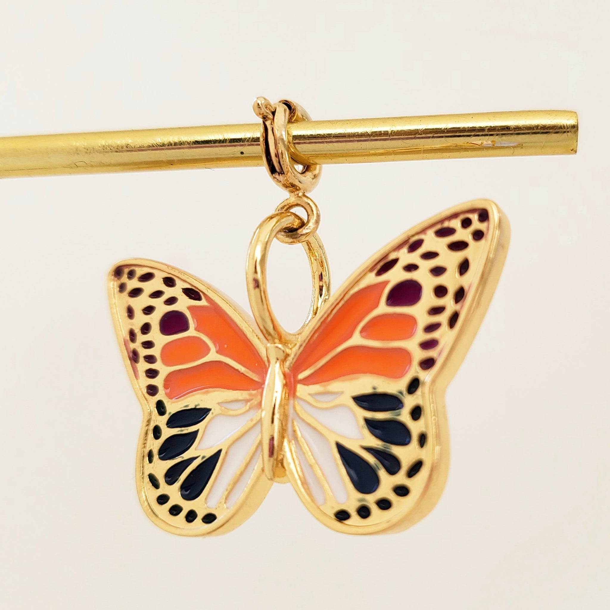 NEW ! Charm Big Butterfly1