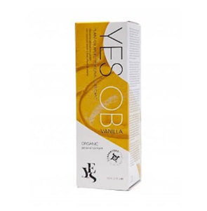 YES Plant Oil Based Natural Personal Lubricant Vanilla