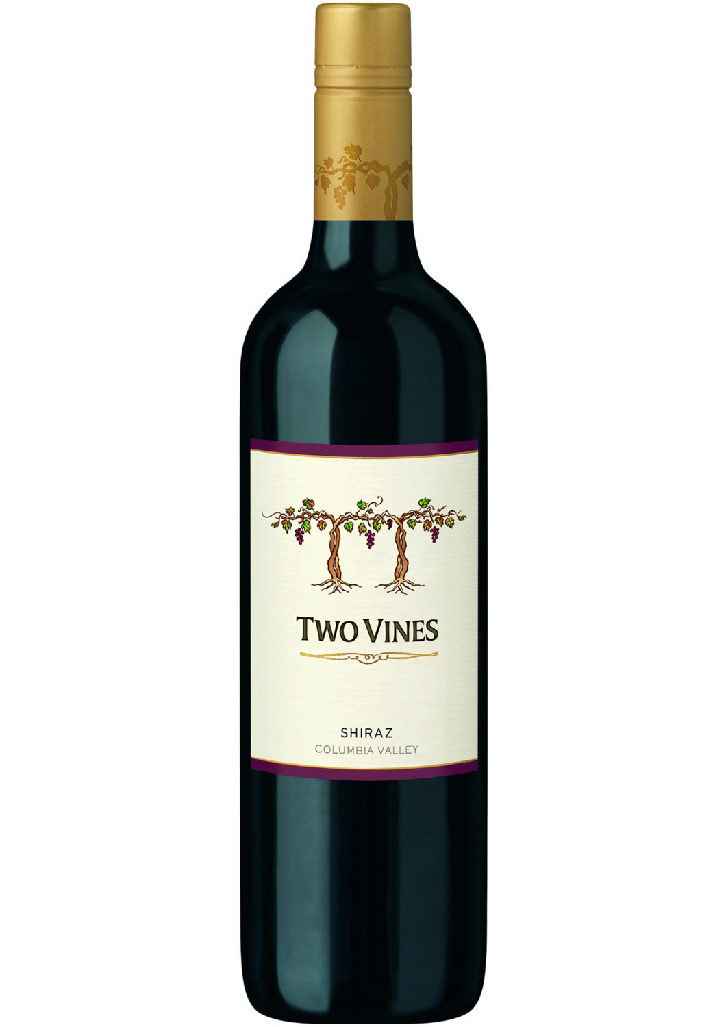 2014 TWO VINES SHIRAZ COLOMBIA VALLEY, COLUMBIA CREST - Vine0nline