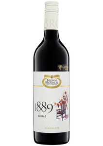 2016 SHIRAZ 18 EIGHTY NINE HEATHCOTE, BROWN BROTHERS - Vine0nline