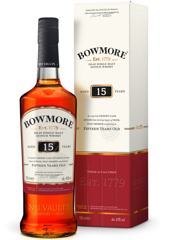 Bowmore 15 Years Old - Vine0nline