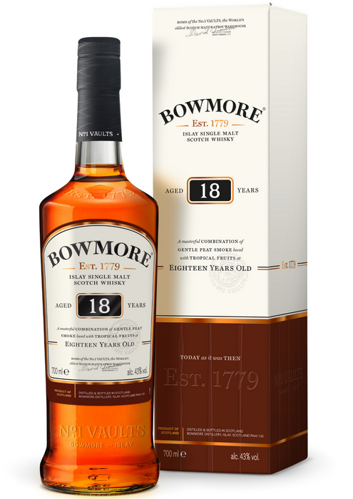Bowmore 18 Years Old - Vine0nline