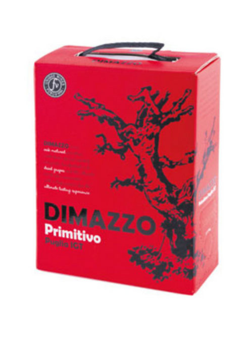 Dimazzo Primitivo 3 Liter Bag In Box