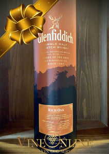 GAVE IDE: GLENFIDDICH SINGLE MALT RICH OAK