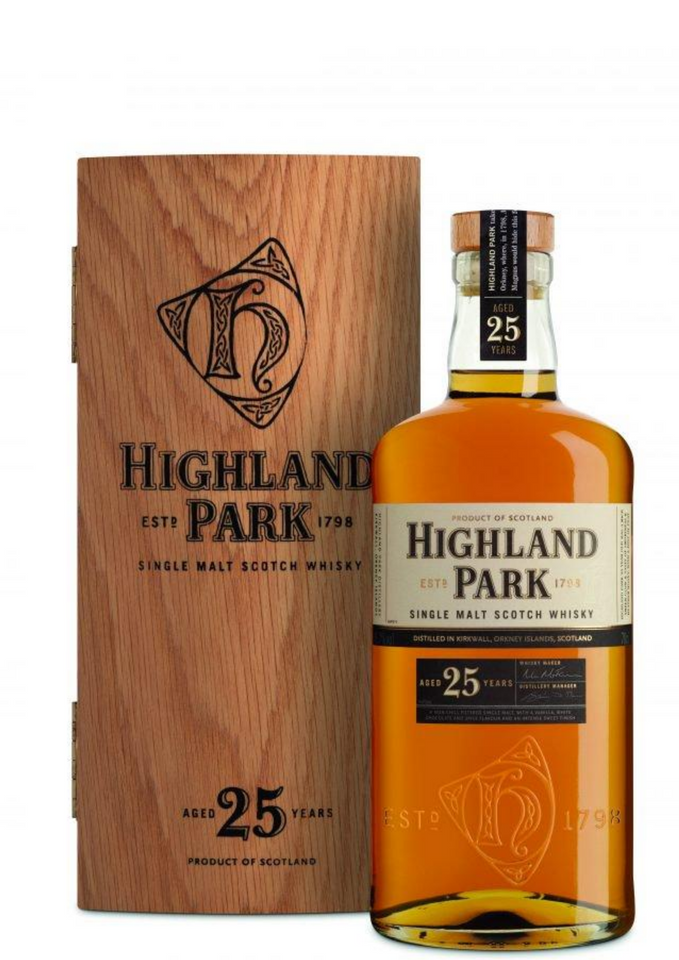 Highland Park 25 Years Old - Vine0nline