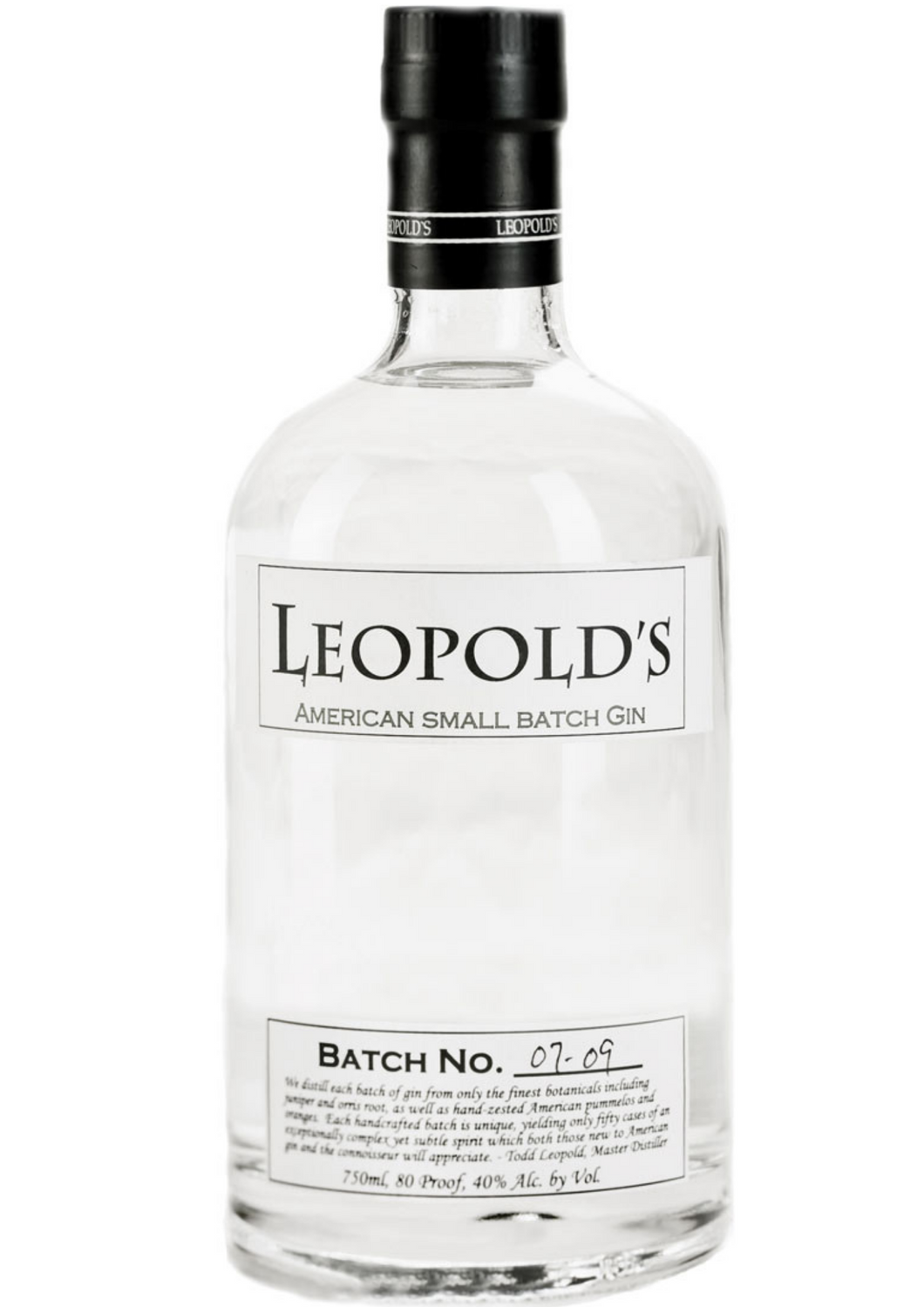 Leopolds Small Batch Gin