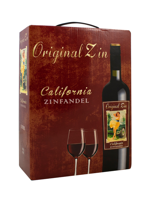 Original Zin California 3 Liter Bag In Box