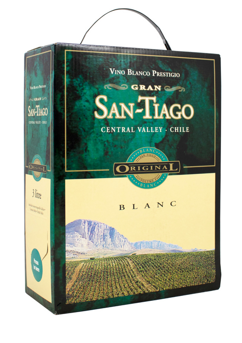 Santiago Blanc 3 Liter Bag In Box