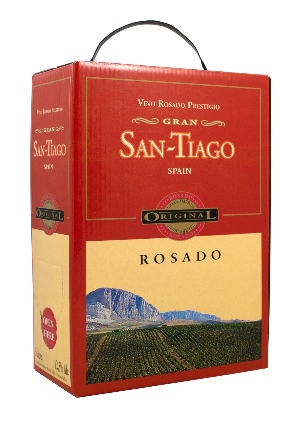 Santiago Rosado 3 Liter Bag In Box