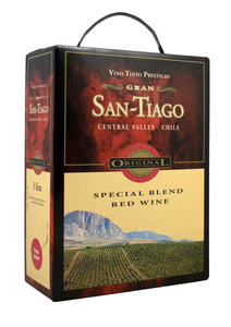 Santiago Special Blend Red 3 Liter Bag In Box