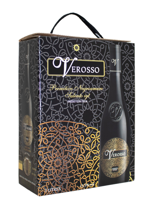 Verosso Primitivo 3 Liter Bag In Box