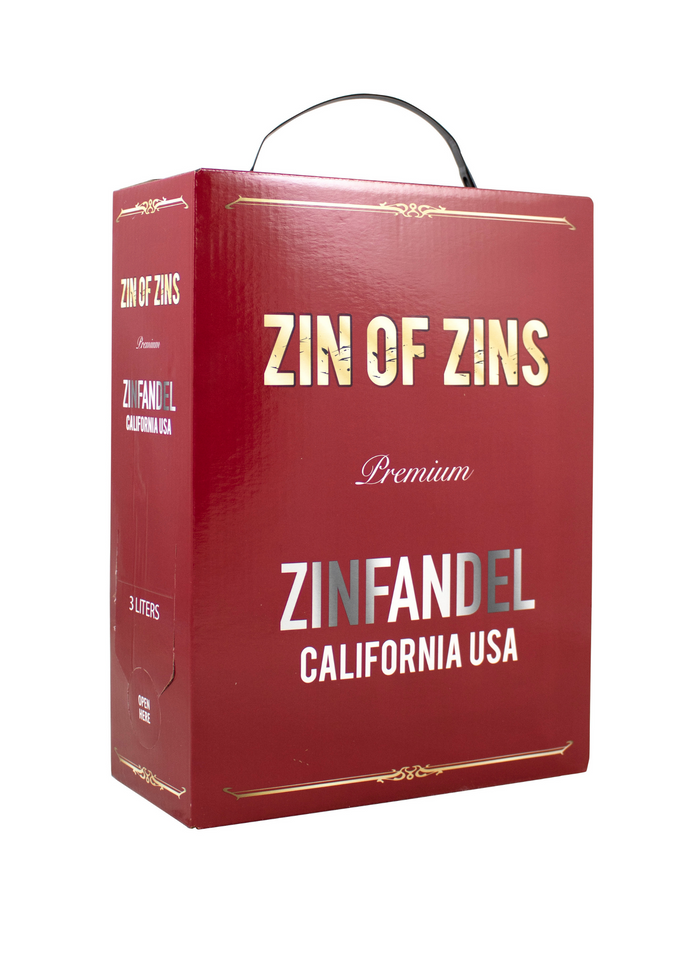 Zin of Zins 3 Liter Bag In Box