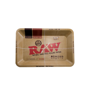 RAW METAL ROLLING TRAY – MINI