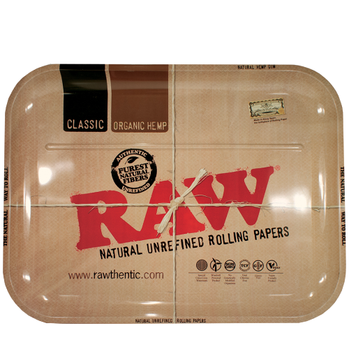 RAW METAL ROLLING TRAY – XXLRG