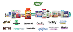 The full line of Nature's Way products. Try our new Alive!® Everyday Immune Health.