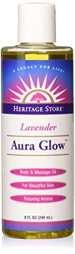 Heritage Products Aura Glow, Lavender Scent, 8 Fluid Ounces (240 ml)