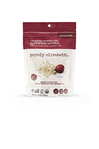 purely elizabeth Gluten-Free Ancient Grain Organic Oatmeal Cup(packaging may vary)